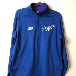 DODGERS New Balance Pullover 1/4 zip Embroidered